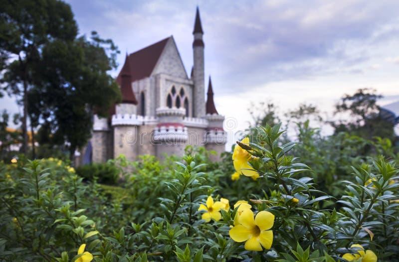 在Vinpearl土地,越南, Phu Quoc海岛防御 库存图片