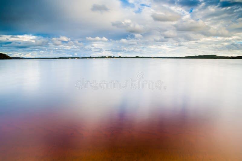 在Walpole附近的沙滩 免版税库存图片