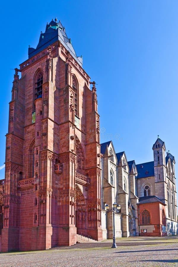 在wetzlar的大教堂,德国 免版税库存照片