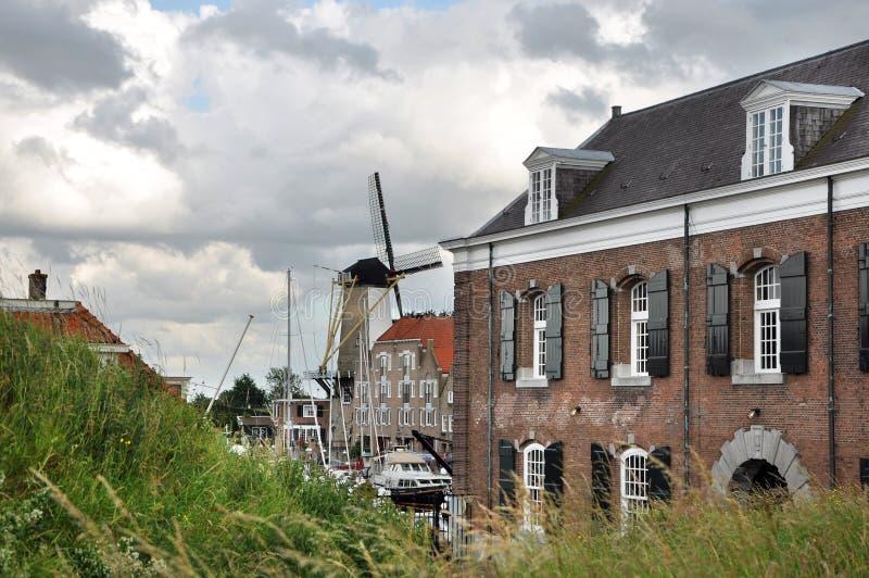 在Willemstad的看法 免版税库存图片