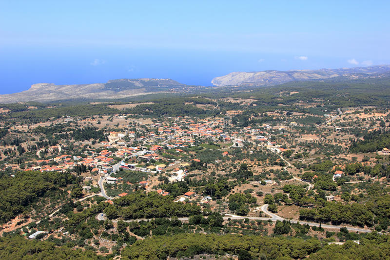 Download 在Zakynthos海岛的概览 库存图片. 图片 包括有 直升机, 希腊, 希腊语, 视图, 爱奥尼亚人 - 15694861
