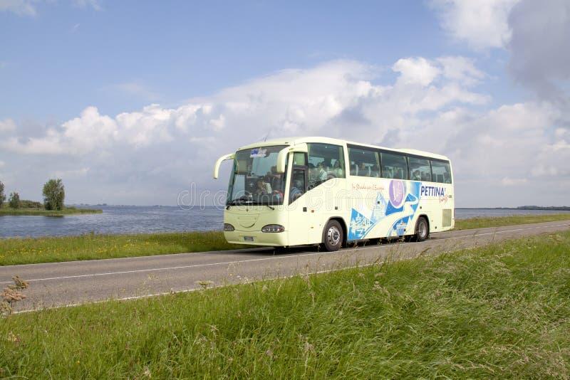 在Zeedijk的Touringcar 库存照片