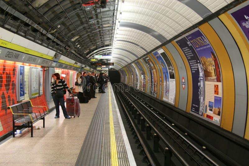 地下伦敦 免版税库存图片