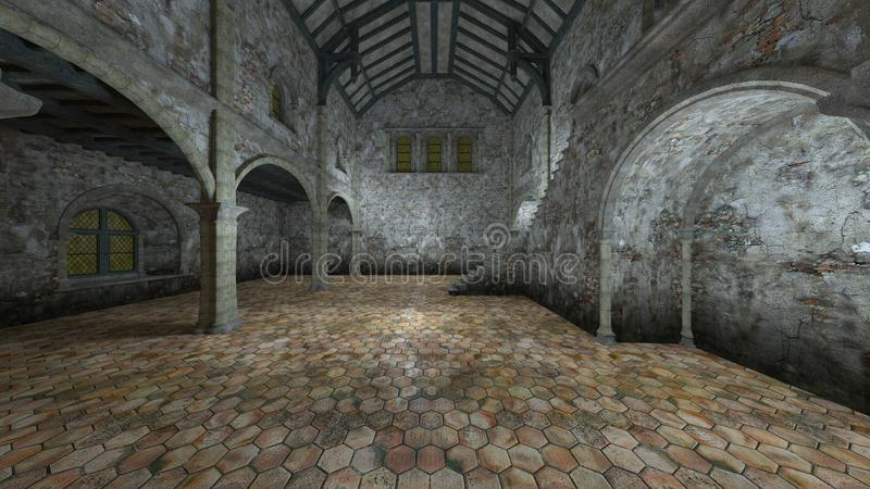 地下堡垒 库存图片