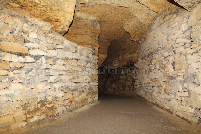 地下墓穴世纪傲德萨老乌克兰xviii xx 免版税库存照片