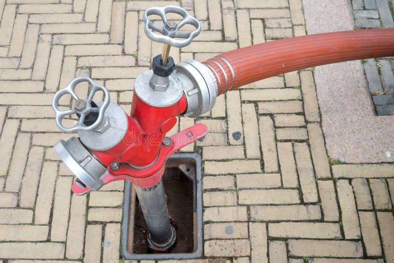 地下消防栓 库存照片