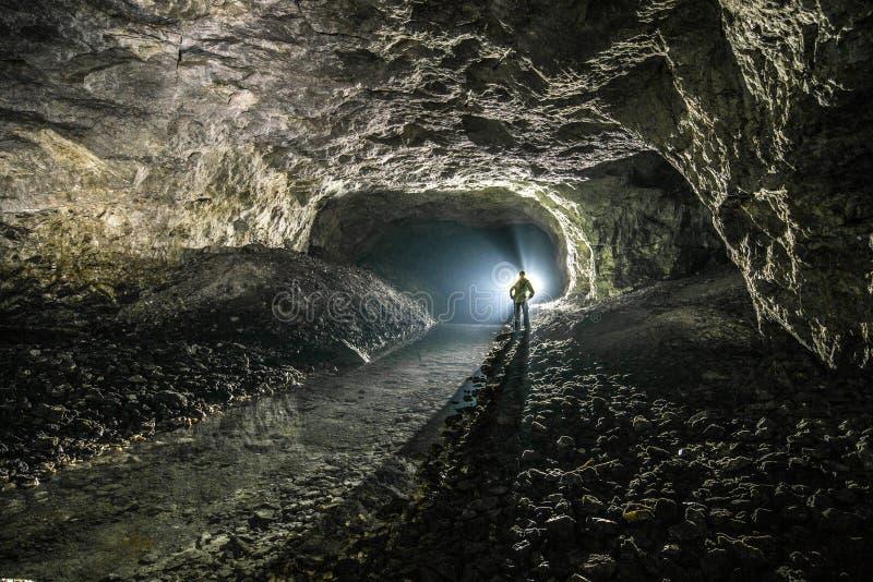 地下矿 乌克兰,顿涅茨克 免版税库存图片