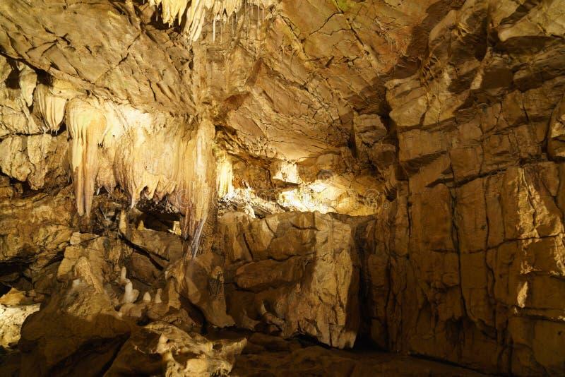 地下grottes 免版税图库摄影