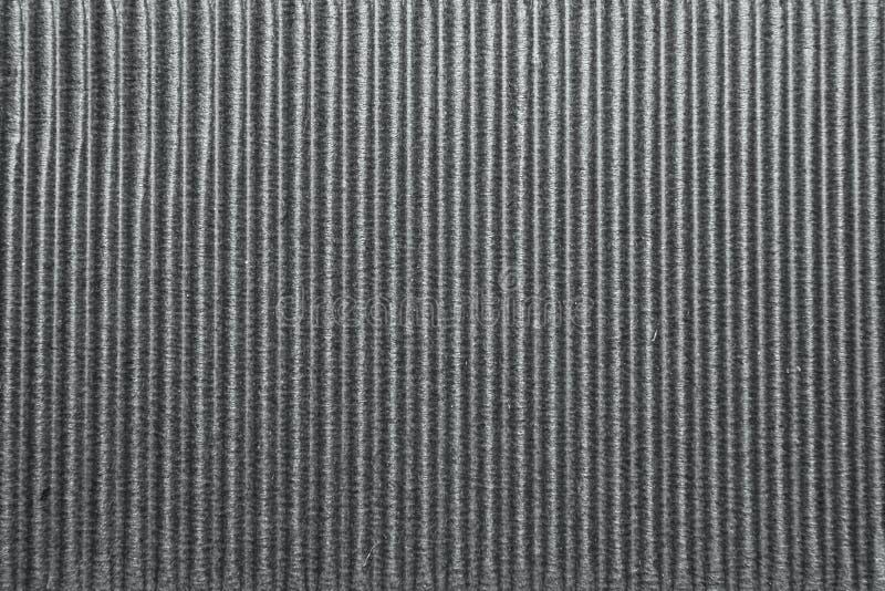 织地不很细使纸板成波状 库存图片