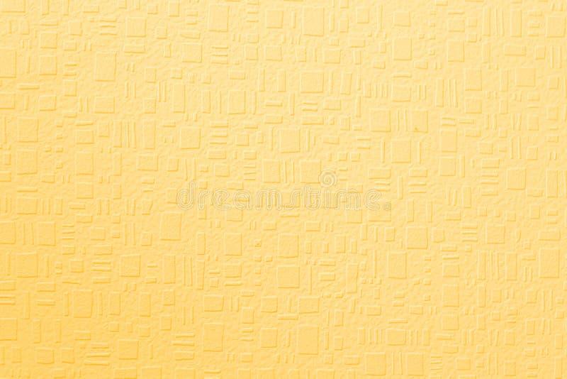 织地不很细黄色背景 库存图片