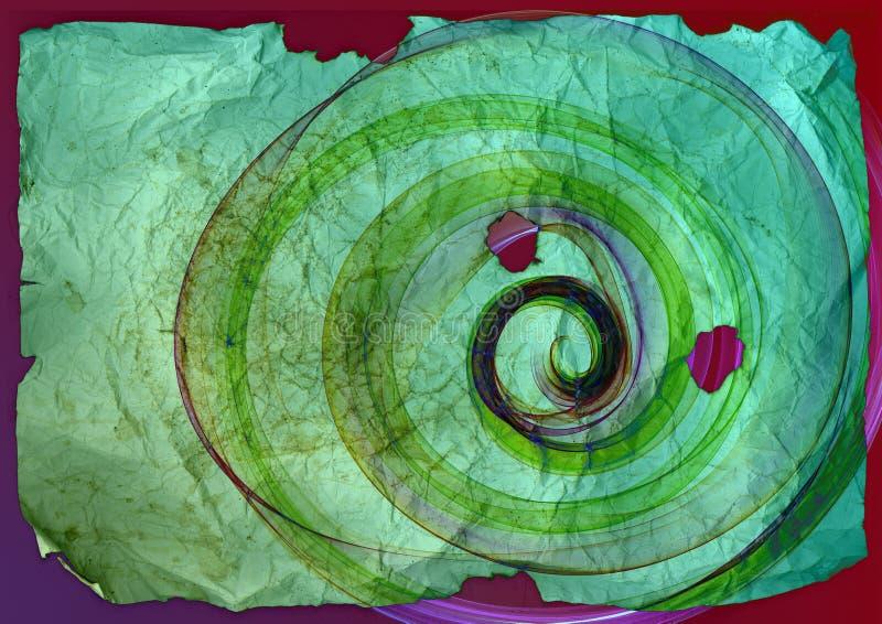 织地不很细难看的东西圆的抽象织法背景 向量例证