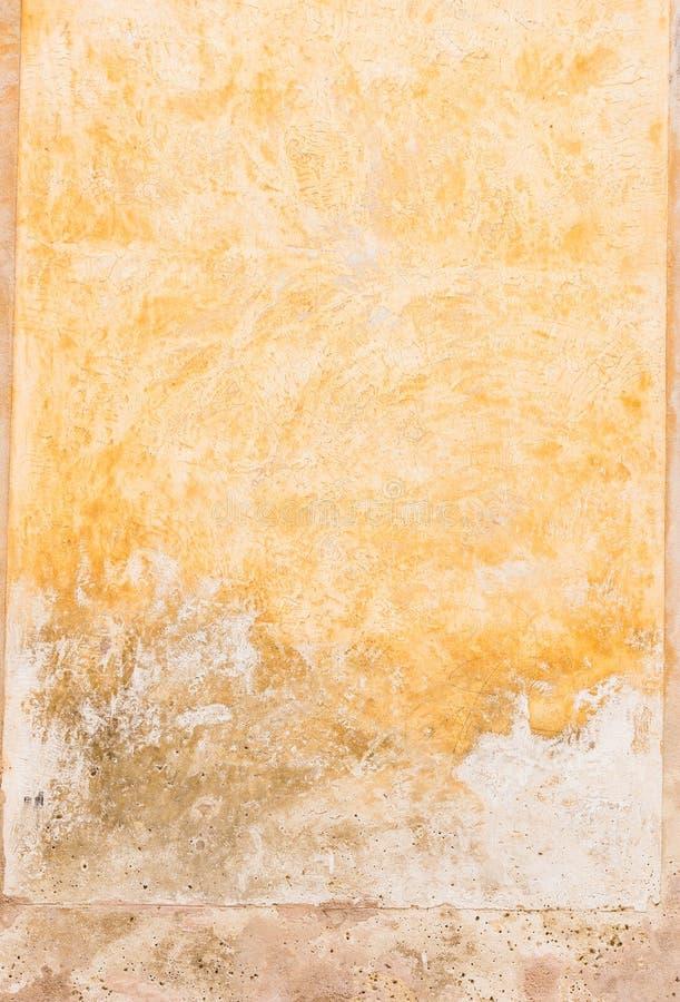 地中海土气灰泥墙壁背景纹理 免版税库存图片