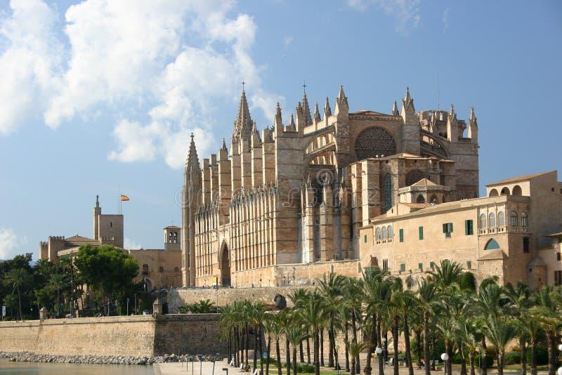 地中海的大教堂 免版税库存照片