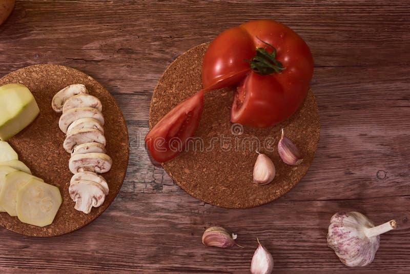 地中海食物,典型的安达卢西亚的美食术摄影  库存图片