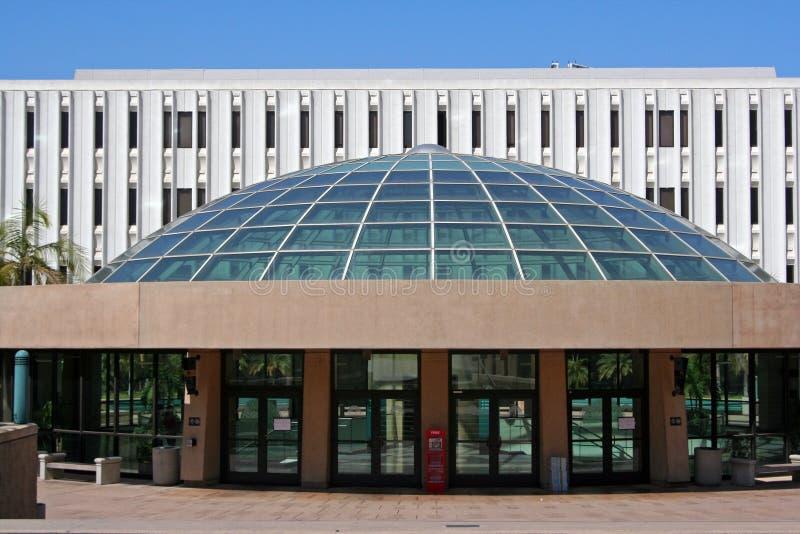 地亚哥图书馆圣州立大学 免版税图库摄影