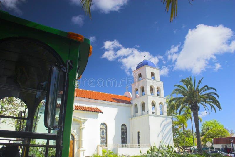 地亚哥老圣城镇 免版税图库摄影