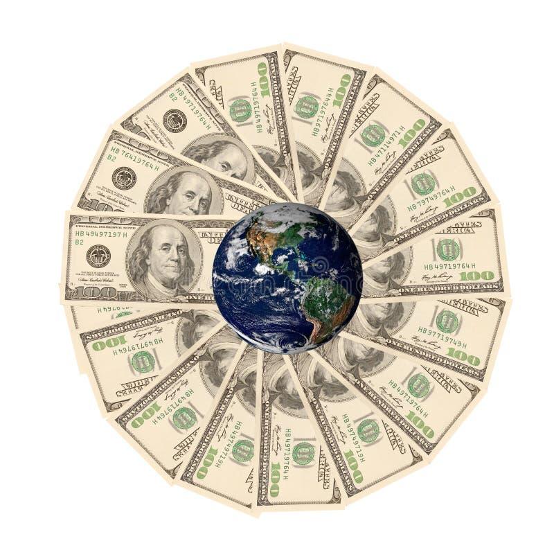 地产货币 库存照片