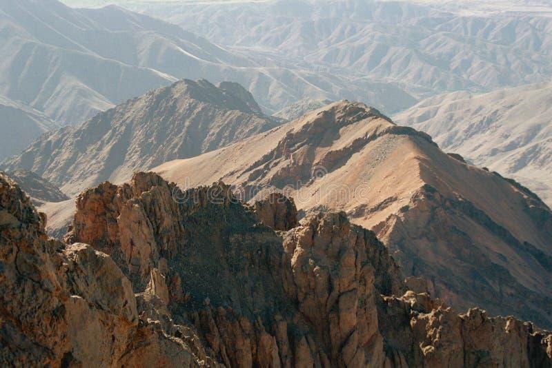 地图集摩洛哥山 库存图片