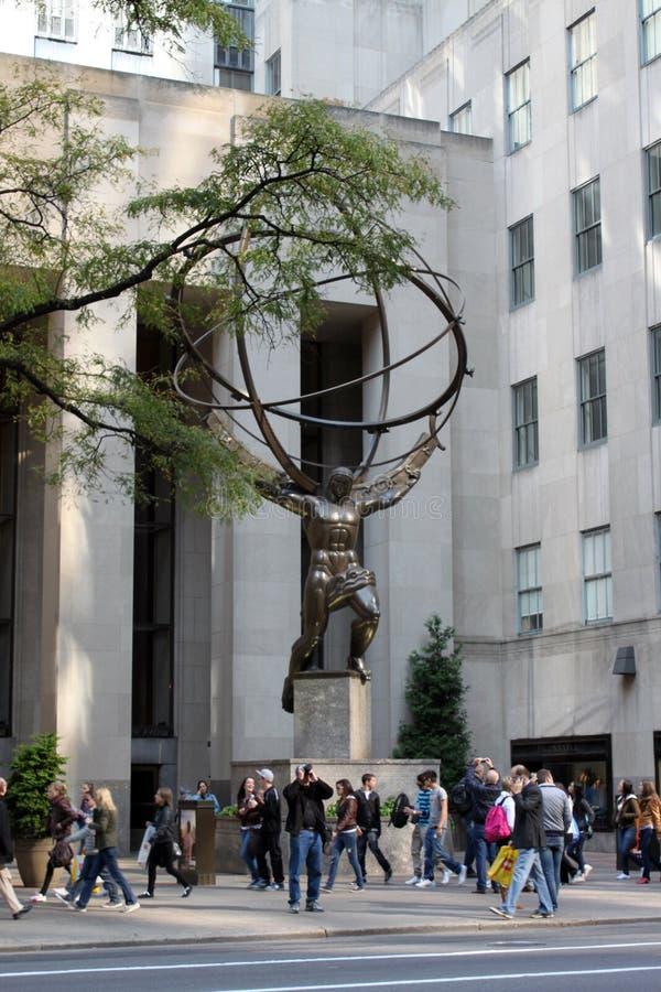 地图集纽约 免版税库存图片