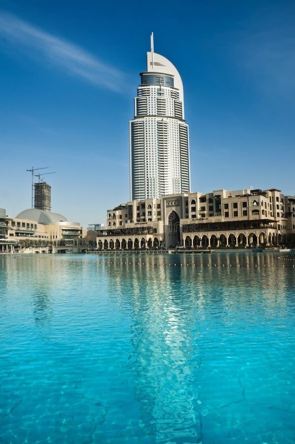 地址旅馆,迪拜 免版税库存图片