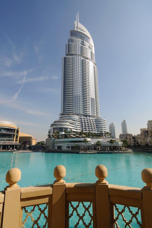 地址迪拜旅馆 库存照片