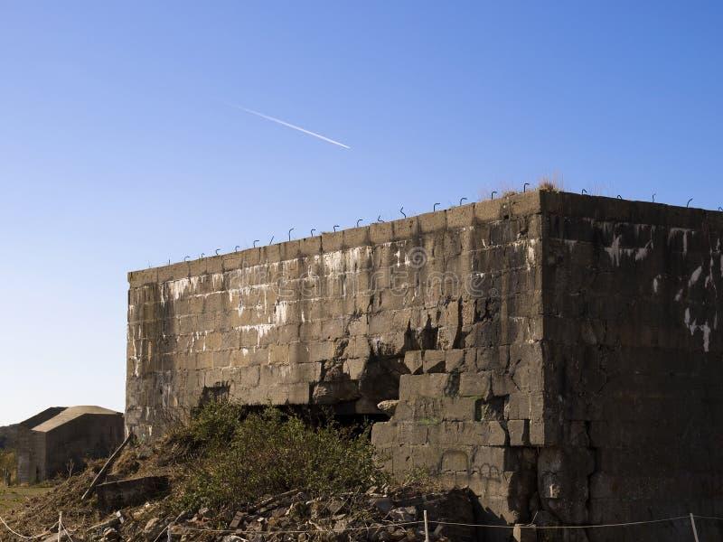 地堡ii战争世界 免版税库存照片