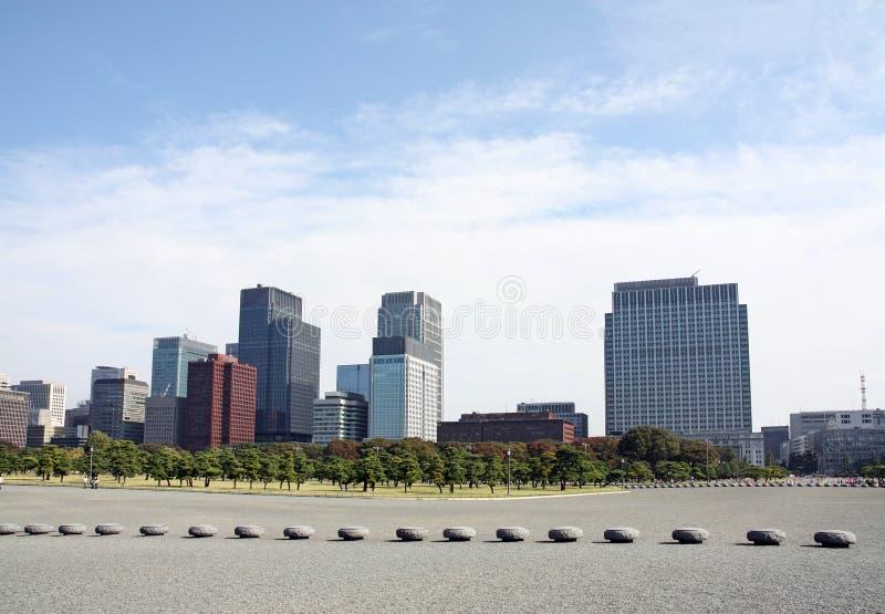 地平线东京 免版税库存照片