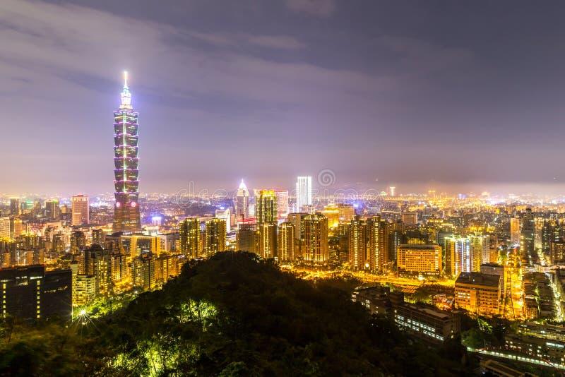 地平线台北 图库摄影