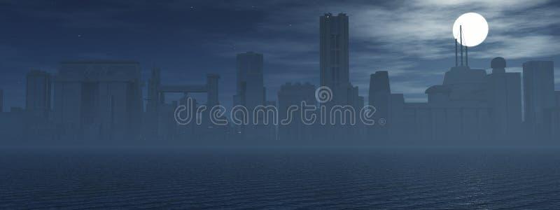 地平线在晚上