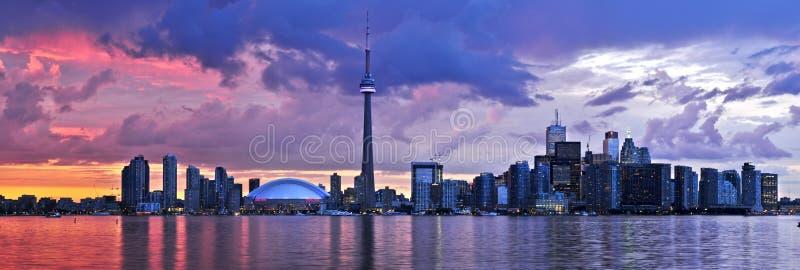 地平线多伦多 免版税图库摄影