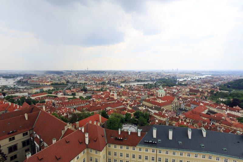 地平线布拉格,捷克- 2014年5月1日 免版税库存照片