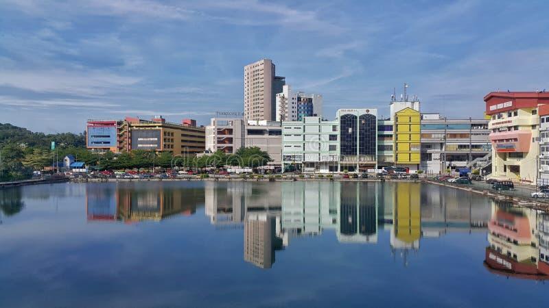 地平线芙蓉市,森美兰状态首都a  图库摄影