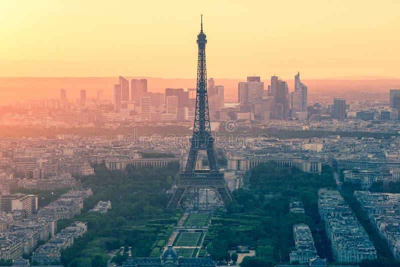 巴黎地平线葡萄酒样式  免版税库存照片