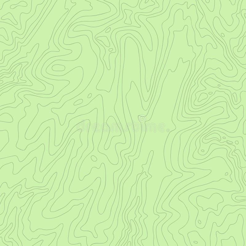 地形图、颜色和乐趣线,传染媒介 皇族释放例证
