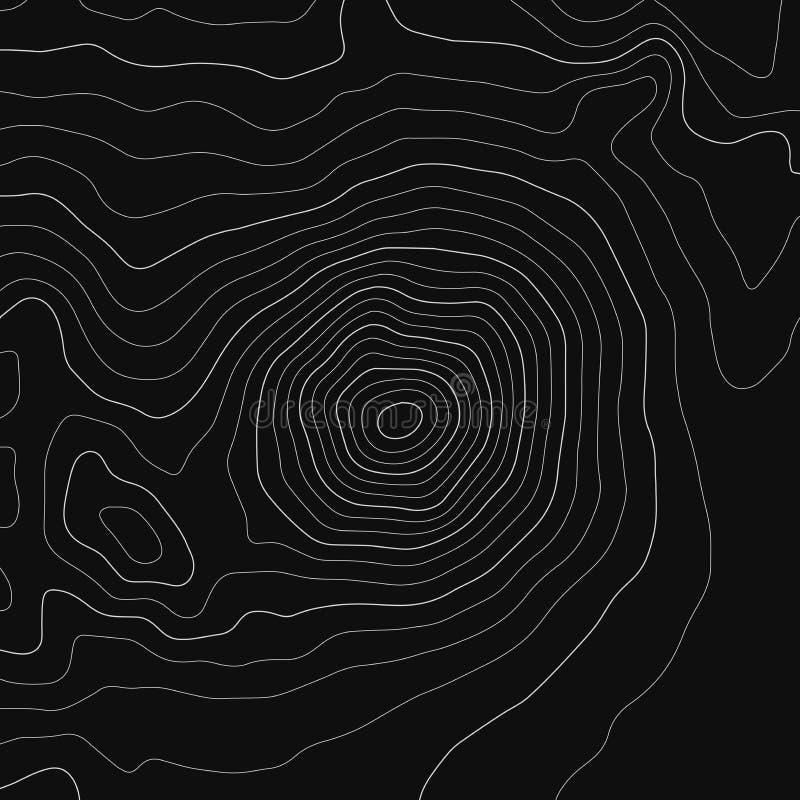 地形图线背景 r 等高线图 皇族释放例证