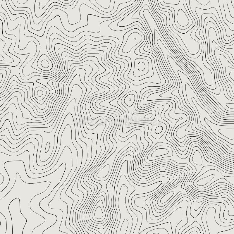 地形图线背景 r 库存照片