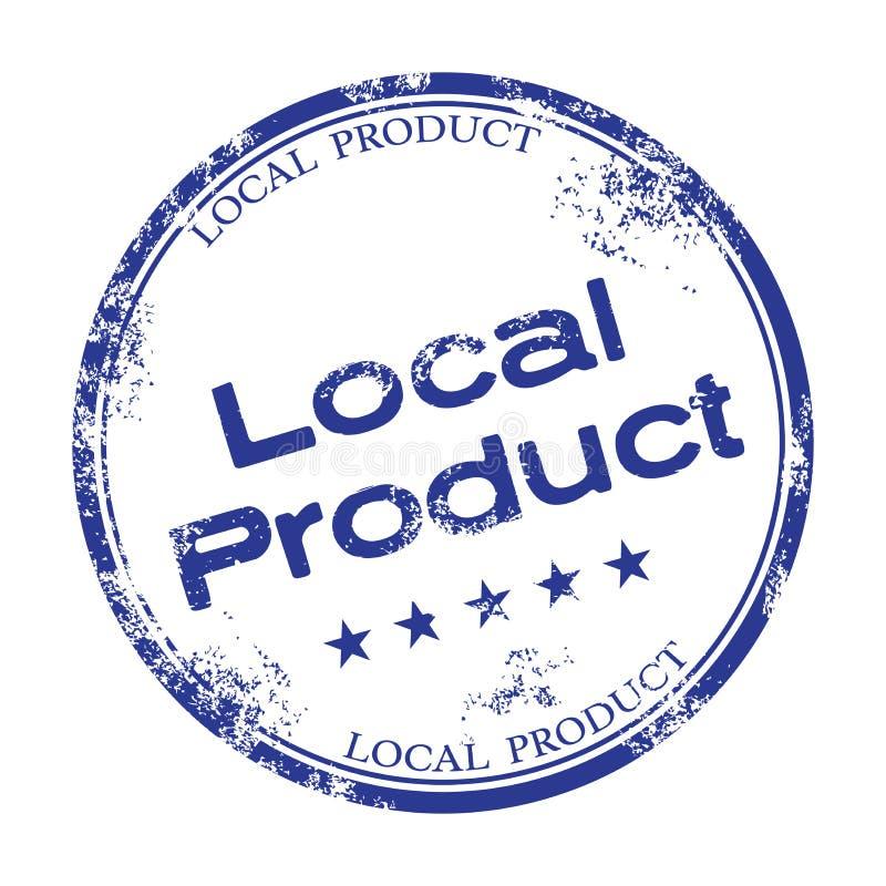 地方产品不加考虑表赞同的人 库存例证