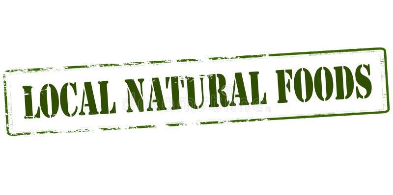 地方自然食物 向量例证