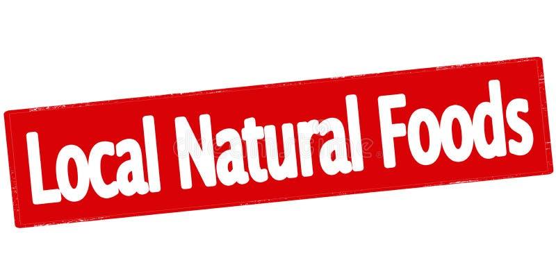 地方自然食物 皇族释放例证