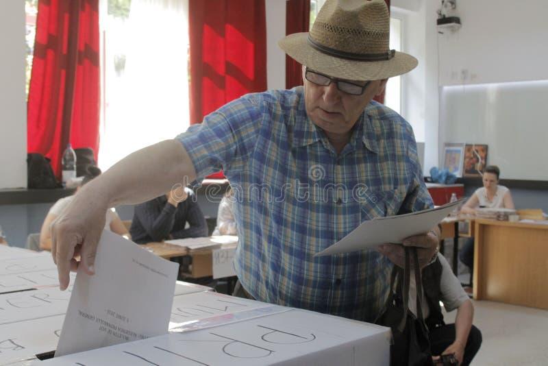 地方选举 库存照片