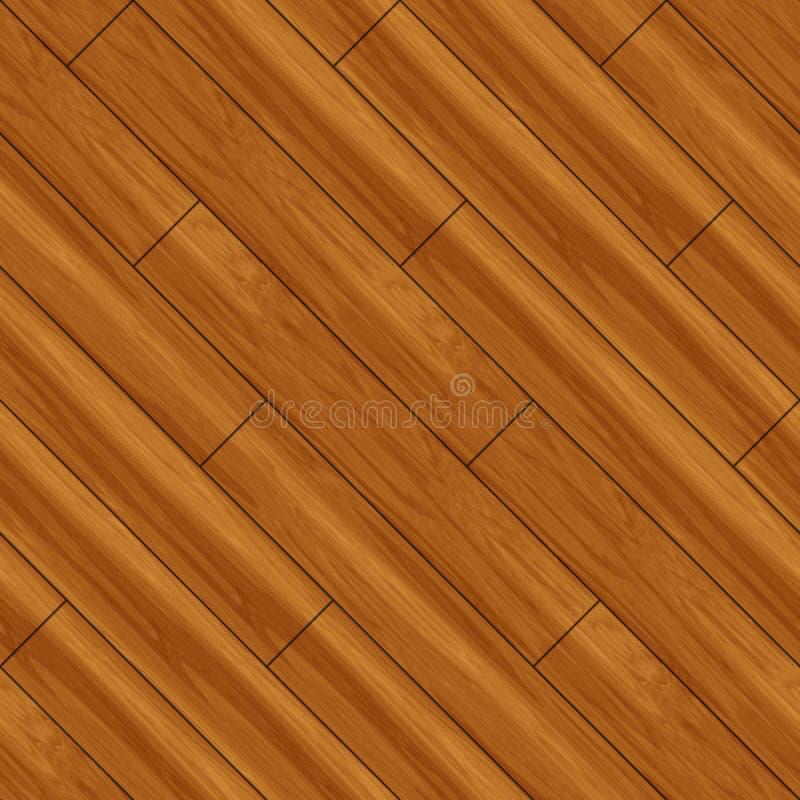 地板木条地板无缝木 库存例证