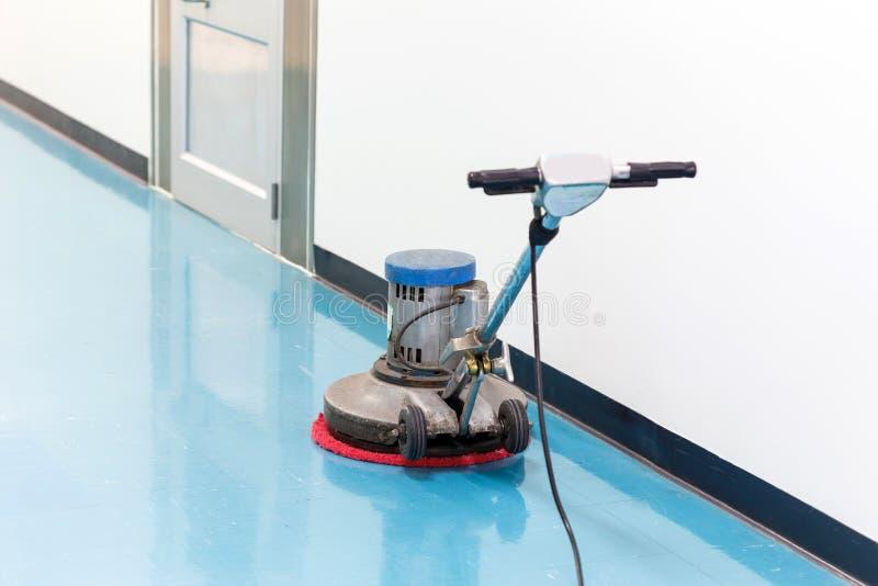 地板的更加干净的机器 图库摄影