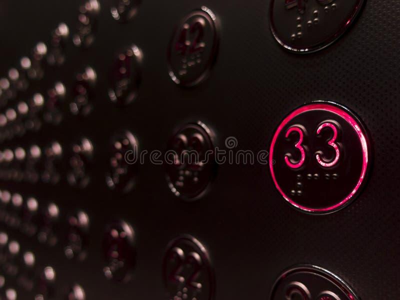 地板33 Th 免版税图库摄影