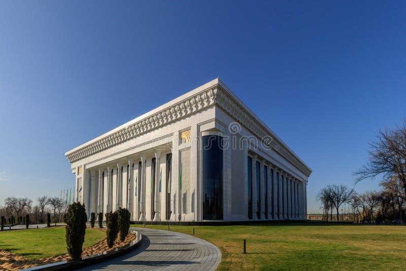 地标在塔什干,论坛宫殿,乌兹别克斯坦的中心 库存照片