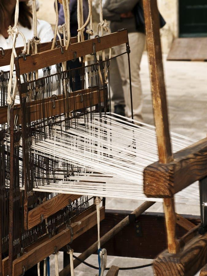 地毯中世纪编织 图库摄影