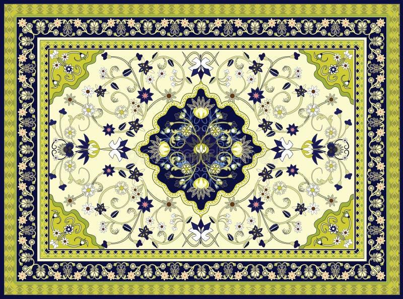 地毯向量 向量例证