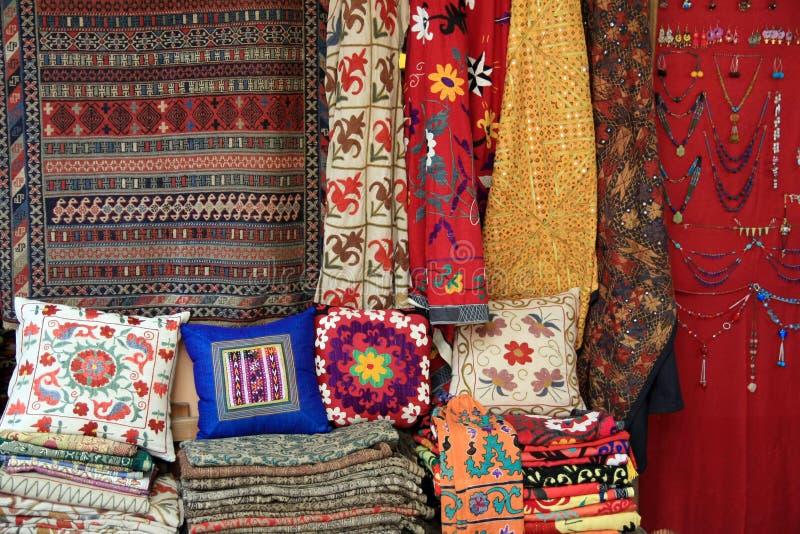 地毯市场 免版税库存图片