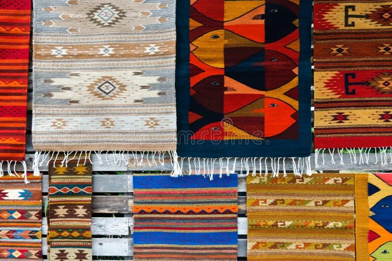 地毯市场 免版税库存照片