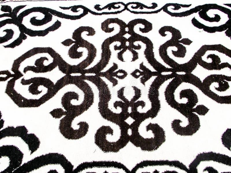 地毯手工制造羊毛 免版税库存图片