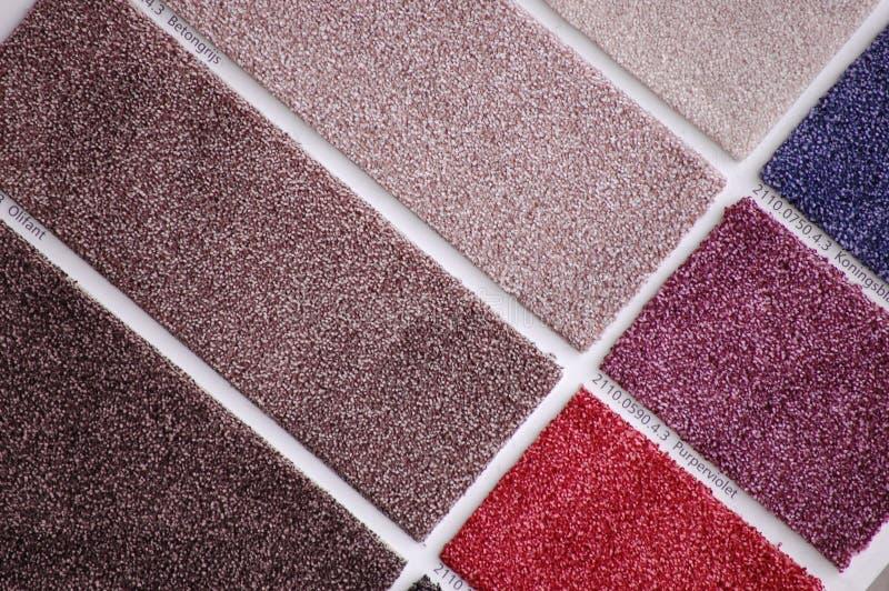地毯收集 免版税库存图片